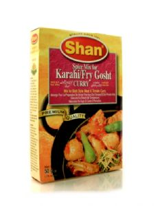 Shan Karahi (mix for stir-fried meat in & tomato sauce) | Buy Online at The Asian Cookshop.